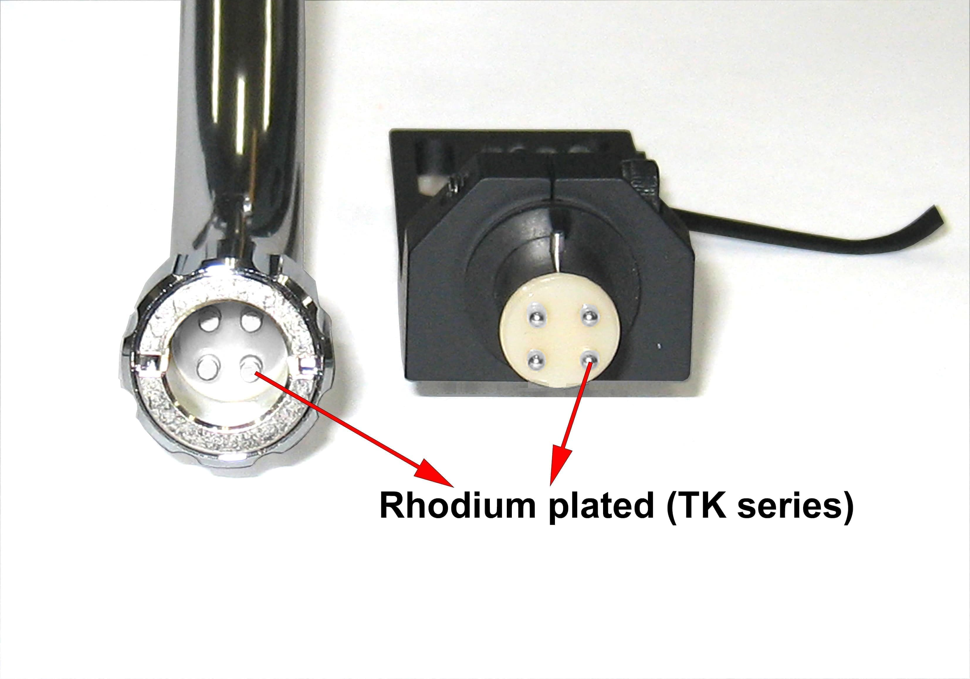 Rhodium plated (TK Series)